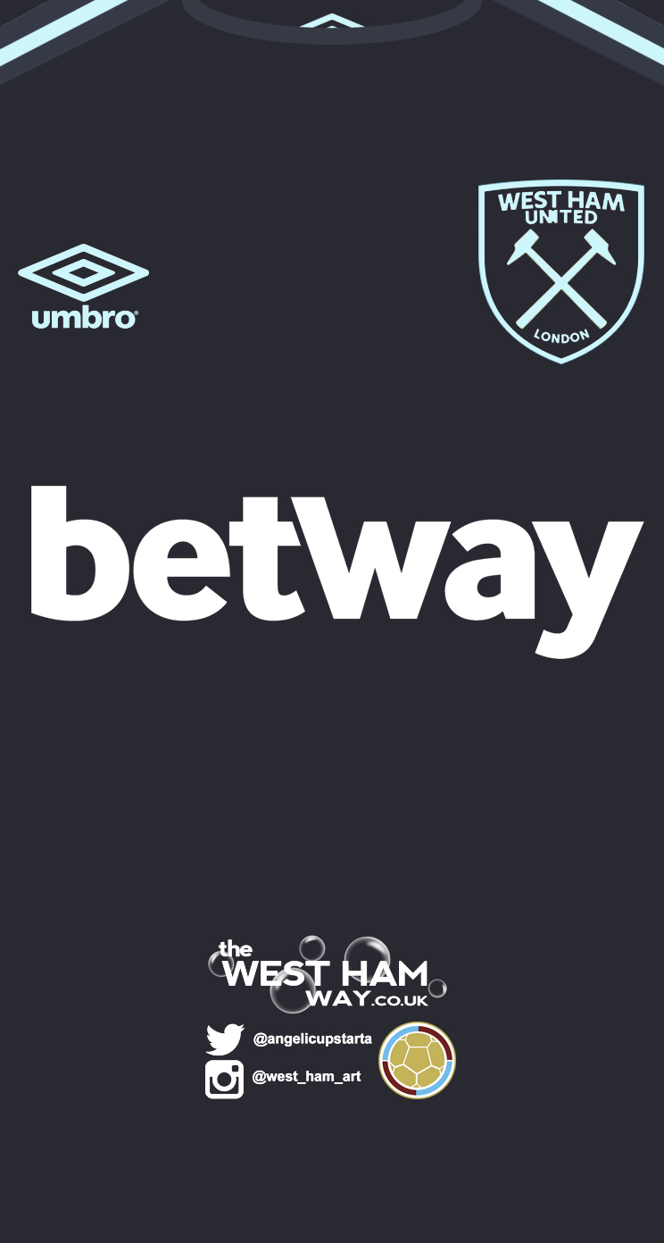 West Ham Away Kit 17-18 Screensaver - The West Ham Way bc9bb1df5